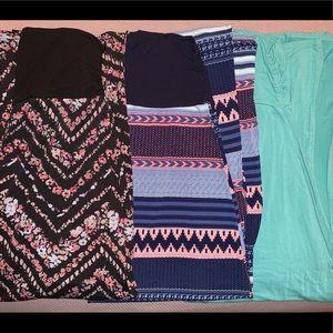 3 Vanity Maxi Skirts (L)
